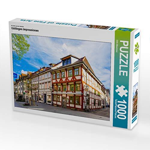 CALVENDO Puzzle Göttingen Impressionen 1000 Teile Lege-Größe 64 x 48 cm Foto-Puzzle Bild von Dirk Meutzner