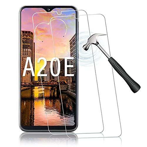 Shalwinn Panzerfolie Schutzfolie für Samsung Galaxy A20e [2 Stück Panzerglas][Anti-Kratzer][Anti-Fingerabdruck][Bubble Free][100% Fingerabdrucksensor] HD Clear Panzerglasfolie (Displayschutzfolie)