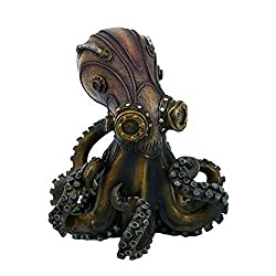 Image: Steampunk Octopus Collectible Figurine