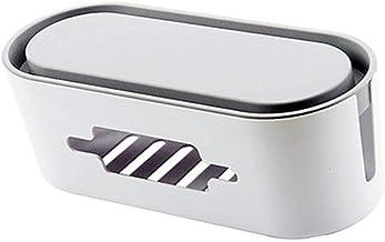 Électrique d'alimentation de Fil Boîte de Rangement du Cordon d'alimentation Collection Organisateur de Sortie Case Power ...