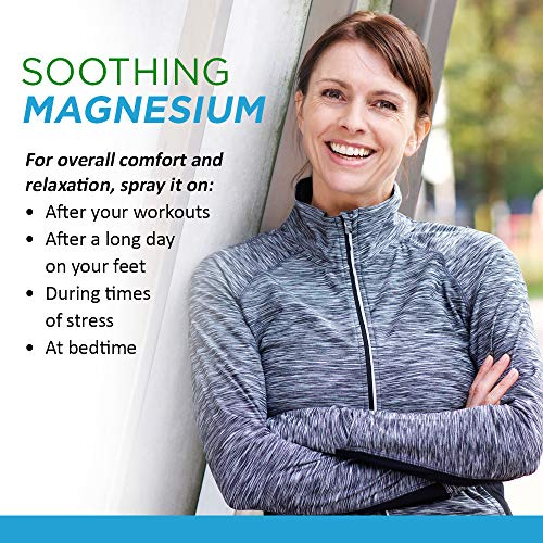 Life-Flo Magnesium Oil Spray w/Organic Aloe Vera | Ancient Zechstein Seabed Magnesium Chloride | Soothing, Relaxing Spray for Muscles & Joints | 8oz