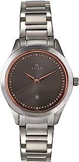 Titan Sparkle Women's Dial Stainless Steel Strap Watch - 2570WM05