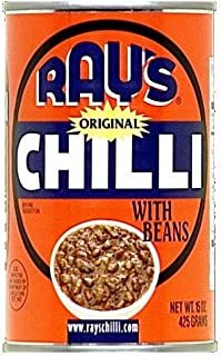 Ray's Original Chili with Beans, 15 Ounce (Pack of 12)