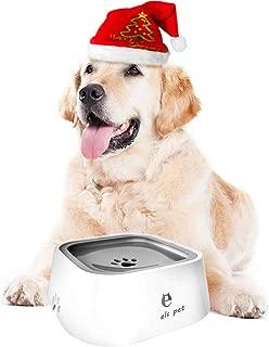 YOUTHINK Bebedero Perro Tazón de Bebida Agua Flotante para Perro Gato Pájaros Mascotas, Alimentador Agua Anti-Salpicaduras Anti-Desbordamiento No Mojada Boca