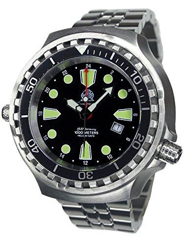 Tauchmeister 1937t0275m Quarz-Uhr, Edelstahl-Armband