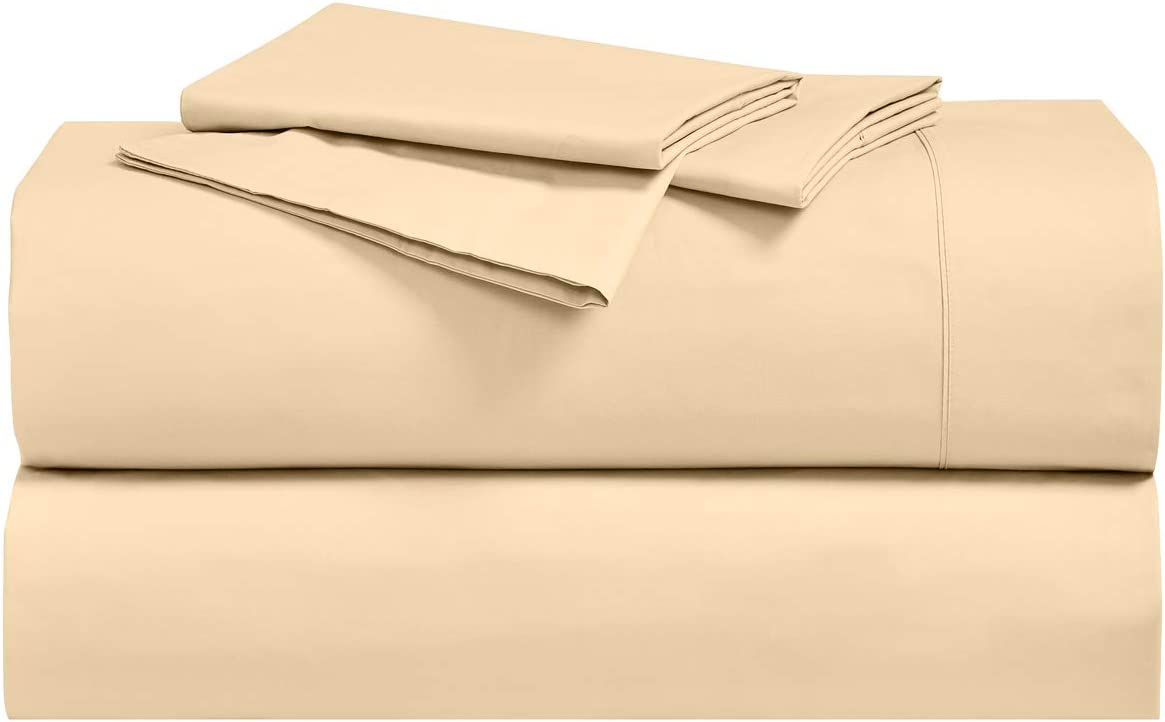 """Riggs Victorian Percale Super Deep 14/"""" Fitted Sheet"""