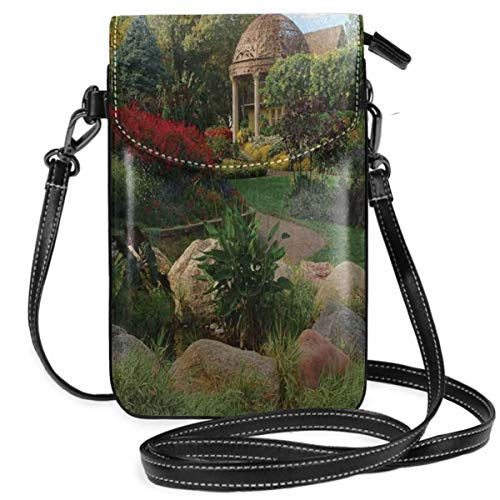 Women Small Cell Phone Purse Crossbody,Picture Of A Gazebo At The Sunken...
