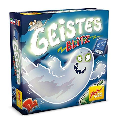 Zoch LRG801 601129800 Geistesblitz, das lustige Reaktionsspiel für Groß und Klein, wer schnell die richtigen Figuren schnappt, hat Gute Chancen zu gewinnen, ab 8 Jahren