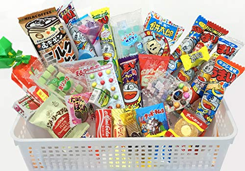 Samurai Dagashi Set, Japanese Snack Assortment 30pcs
