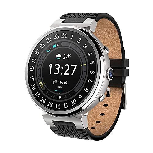 Smart Watch 1.3'TFT Pantalla táctil Soporte 3G Wi-Fi GPS Android 5.1 RAM 2G ROM 16G Smartwatch con podómetro Cámara Reproductor de música Adecuado para Hombres y Mujeres