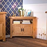 The Furniture Outlet Hampshire Oak Corner TV Unit