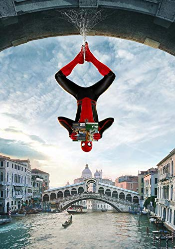 Desconocido Póster de Spiderman Far from Home Movie (A5-A4-A3), A3