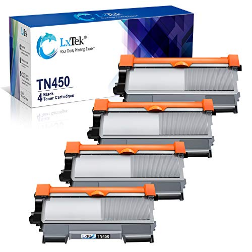 LxTek Compatible Toner Cartridge Replacement for Brother TN-450 ...