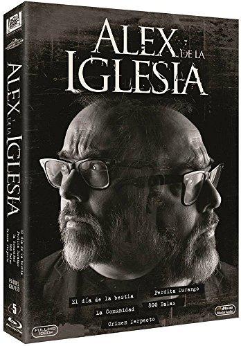 Pack Álex De La Iglesia / Álex de la Iglesia Collection - 5-Disc Set ( El día de la bestia / La comunidad / 800 balas / Crimen ferpecto ) ( The Day of the Beast / Common Wealth / 800 Bullets (Blu-Ray)