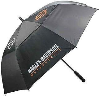 """Harley-Davidson H-D /"""" Umbrella Black Groß B+S Logo UMB516804"""