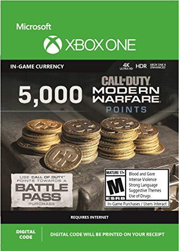5,000 Call of Duty: Modern Warfare Points - Xbox One [Digital Code]