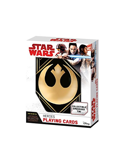 Topps 100156129Star Wars Episode 8–Caja Metal Collector–Juego de Tarjetas