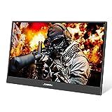 15,6 Zoll USB-C Tragbarer Gaming Monitor, Ultra HD 1920 x 1080 IPS-LCD/LED-Anzeige, HDMI/Zwei Typ C...