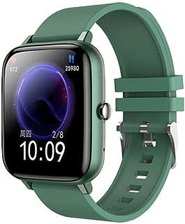 Smartklocka, Bluetooth Smartwatch Fitness Tracker Armband Multisport Mode Klocka Armband Klocka Grön