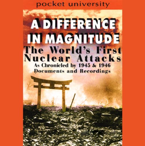 A Difference in Magnitude audiobook cover art