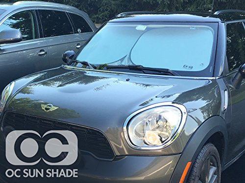 OC Sun Shade (Compatible with 2011-2016 BMW 528 4 Door Sedan Windshield