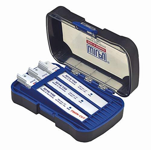 Wilpu 30-delige Wilpu Recipro-set. metaal, in 2 K-BOX – 3013/150,3014/150,3016/150 2-K box – 30-delige Wilpu Recipro-poort. Metaal VE 1 stuk 14900 00030