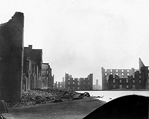 Civil War Richmond Nruins Of The Gallego Flour Mill Richmond Virginia Photographed In 1865 By Alexander Gardner Poster Print by (24 x 36) -  Granger Collection, GRC0006302LARGE