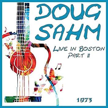 Live in Boston 1973 Part 2 (Live)