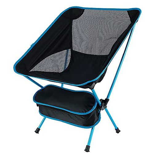 Folding Camping Chairs, Lightweight Portable Chairs Compact Backpacking...