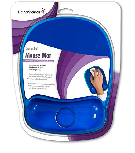 Handstands Ergonomic Crystal Gel Mouse Pad with Wrist Support