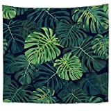 Tapestry Wall Hanging Tapestries Decor Living Room Home Bedroom House Decoration Green Plant Tropical Jungle Corner Freshness & Natural Style Home Decorations