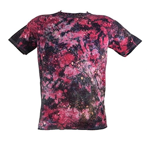 Tie Dye Nebula Galaxy T-Shirt 2XL