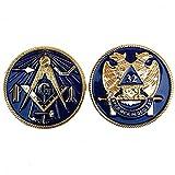 2' Mini Small Masonic 32nd Degree Mason 2...