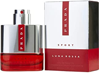 Luna Rossa By Prada Sport Eau de Toilette for Men 50ml
