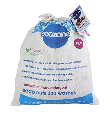 Ecozone Soap Nuts - 330 Wash, 1 kg