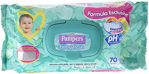 Pampers Baby Fresh Tücher, 70 Stück