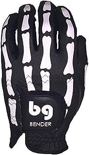 Bender Gloves Mesh Golf Gloves for Men, Cabretta Leather, Worn on Left Hand