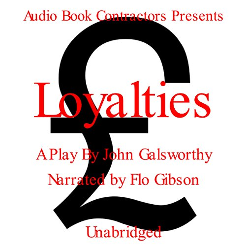 Loyalties audiobook cover art