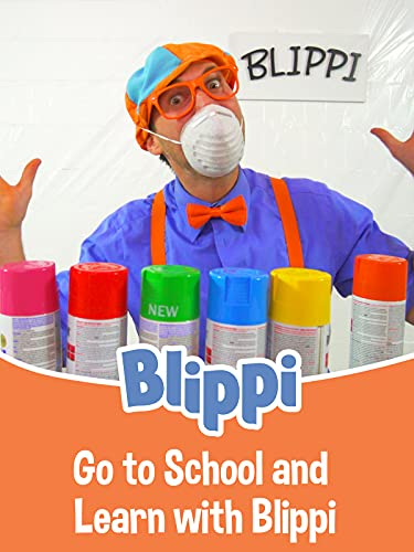 Go to School and Learn with Blippi