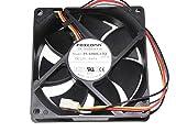 SunnyStar 8cm PVA080G12Q F03-AE 12V 0.65A 3Wire Foxconn CPU Fan,PVA080G12Q-F03-AE case Fan