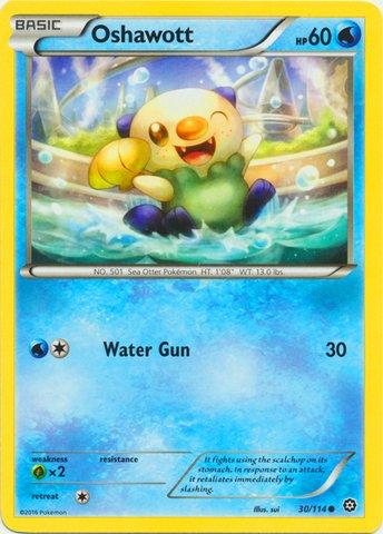 Pokemon - Oshawott (30/114) - XY Steam Siege