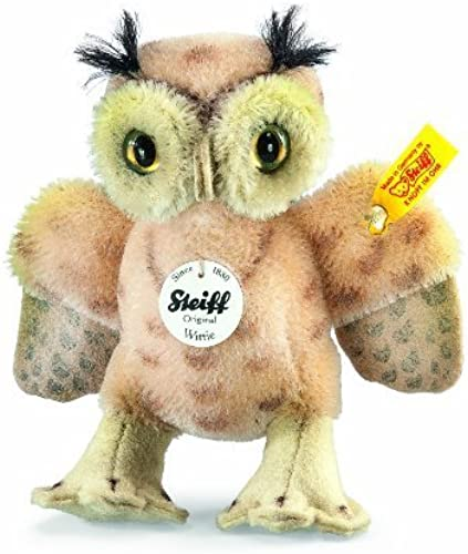 Steiff Witcravate Owl Spotted (Beige) by Steiff
