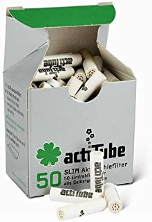 actiTube 50 filtros de carbón Activo Girar.