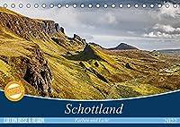 Schottland Farben und Licht (Tischkalender 2022 DIN A5 quer): Beeindruckende Aufnahmen von den Landschaften Schottlands (Monatskalender, 14 Seiten )