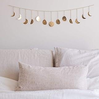 Moon Decor Wall Decorations | Handmade Hammered Detailing | Boho Accents Wall Decor |..