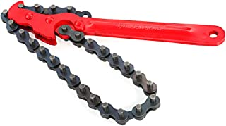 comprar comparacion KKmoon - Llave de cadena, herramienta de reparación universal automática de coche, llave de filtro de aceite de llave de f...