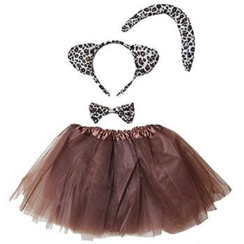 Kirei Sui Kids Costume Tutu Set Leopard