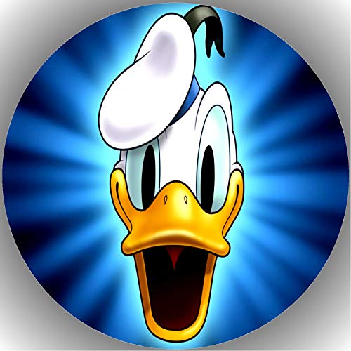 Fondant Tortenaufleger Tortenbild Geburtstag Donald Duck T6