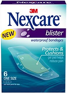 Nexcare Blister Waterproof Bandages, 6 Count (Pack of 6)
