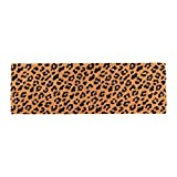 NATURAL COCONUT COIR MATERIAL: This doormat is made of pure coconut coir which is the strong natural fibre. It can easily capture moisture, dirt and other particles ATTRACTIVE LEOPARD ANIMAL PRINT DESIGN: This doormat will add an exotic look to your ...